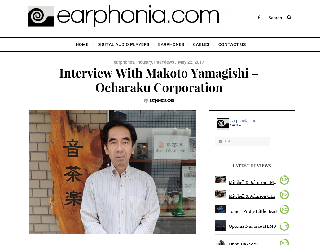earfonia.com Interview